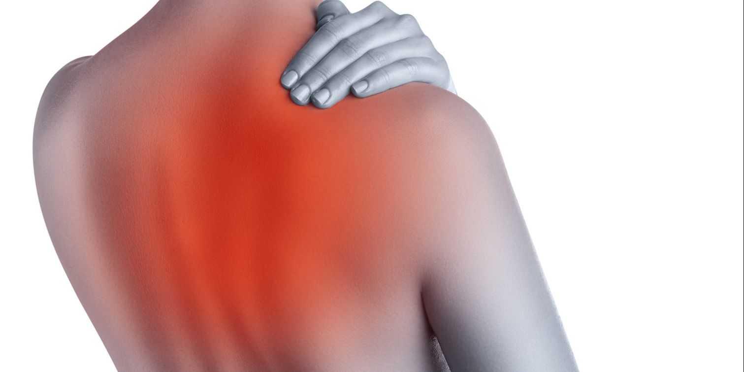 El dolor dorsal ancho