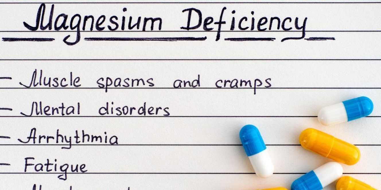 deficiencia de magnesio