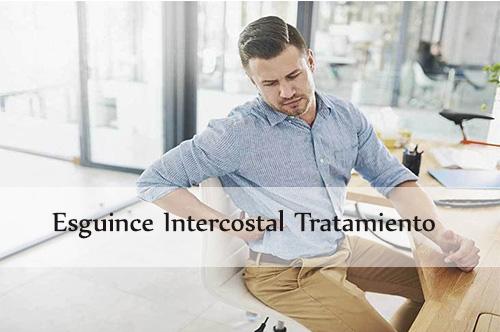 esguince intercostal tratamiento