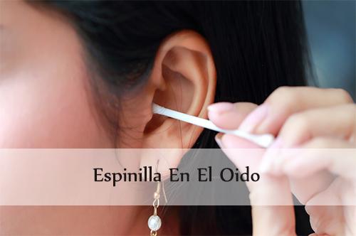 espinilla en el oido