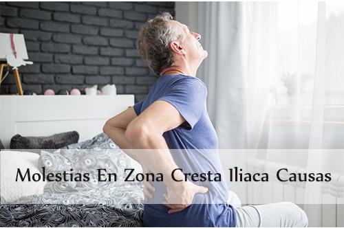 molestias en zona cresta iliaca causas