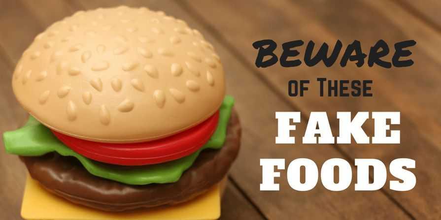 peores alimentos falsos