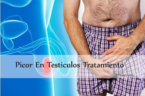 picor en testiculos tratamiento