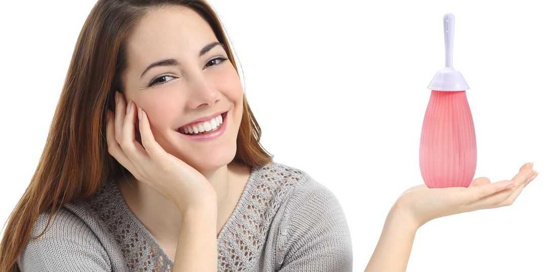 Ducha vaginal con vinagre de sidra de manzana