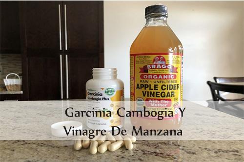 garcinia cambogia y vinagre de manzana