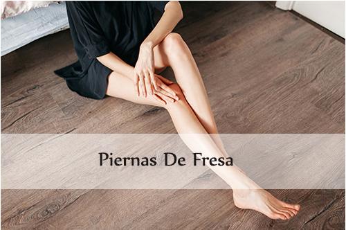 piernas de fresa
